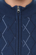 Axmann Crossover Designed Zipper Cardigan