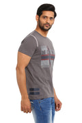 AXMANN Norway Round Neck Casual T-Shirt
