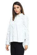 Full Sleeve Self Designed Casual Shirt - MODA ELEMENTI