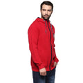 Axmann Solid Full Sleeve Zipper Hooded Sweatshirt - MODA ELEMENTI