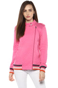 Casual Side Zipped Sweatshirt - MODA ELEMENTI