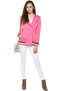 Casual Side Zipped Sweatshirt