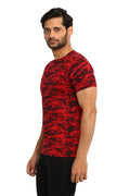 AXMANN Casual T-Shirt Combo Pack (Red | Grey Melange) - MODA ELEMENTI