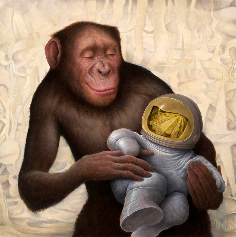 Chris Leib - When The Chimp Comes Around