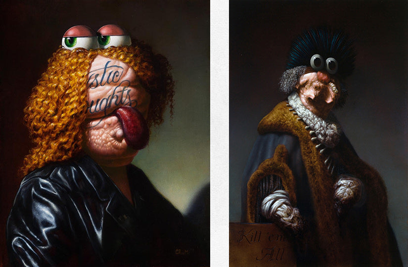 Christian Rex van Minnen paintings