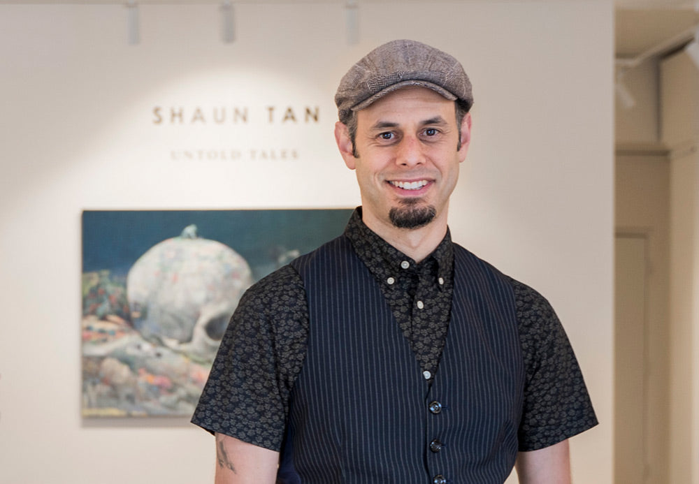 Jon Beinart at Shaun Tan solo exhibition