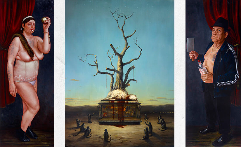 Martin Wittfooth & Jean Labourdette