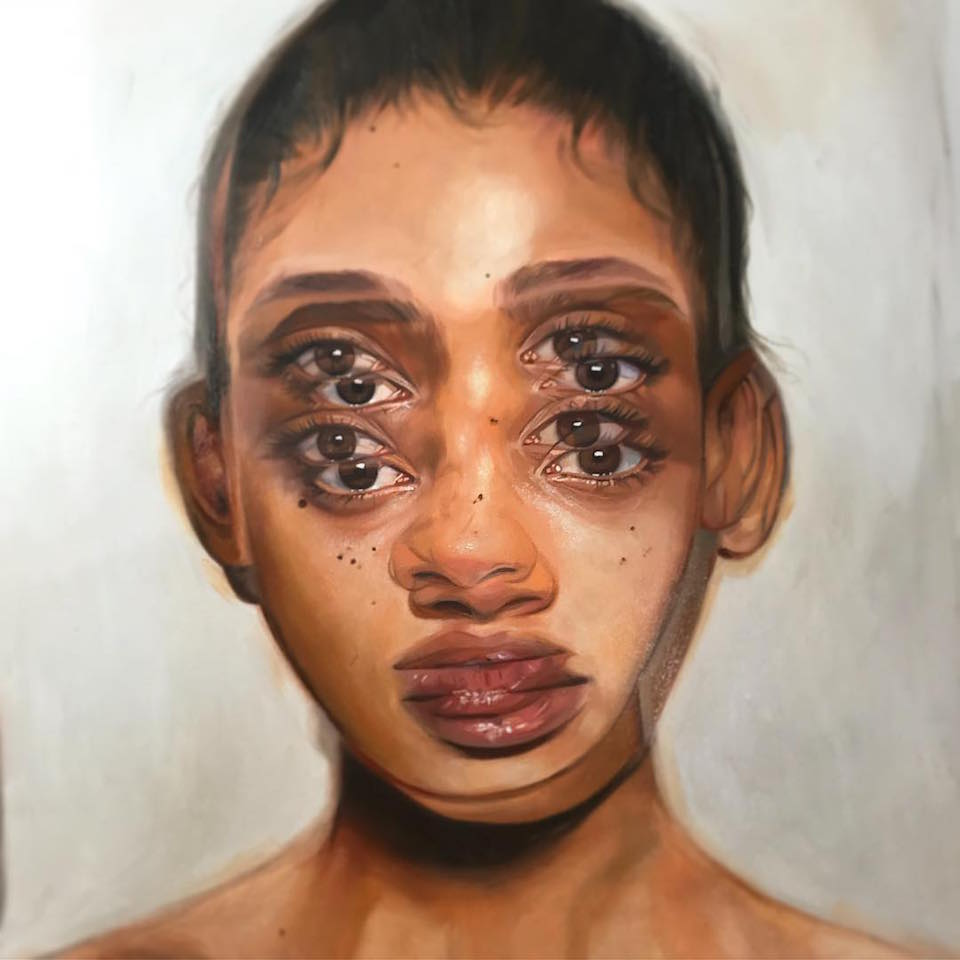 Oil painting by Alex Garant.