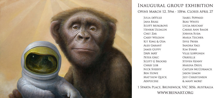 Chris Leib - Beinart Gallery inaugral show