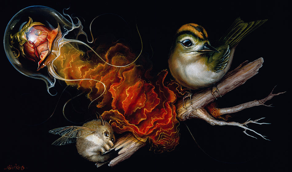 greg craola simkins' paintings