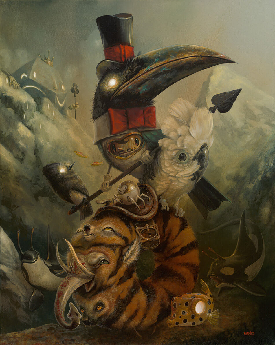 Greg Craola Simkins paintings