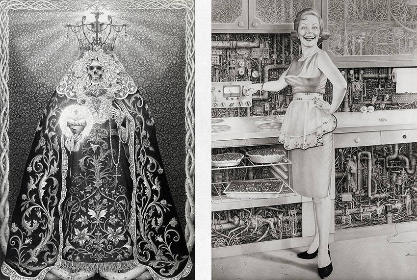 Drawings by Laurie Lipton