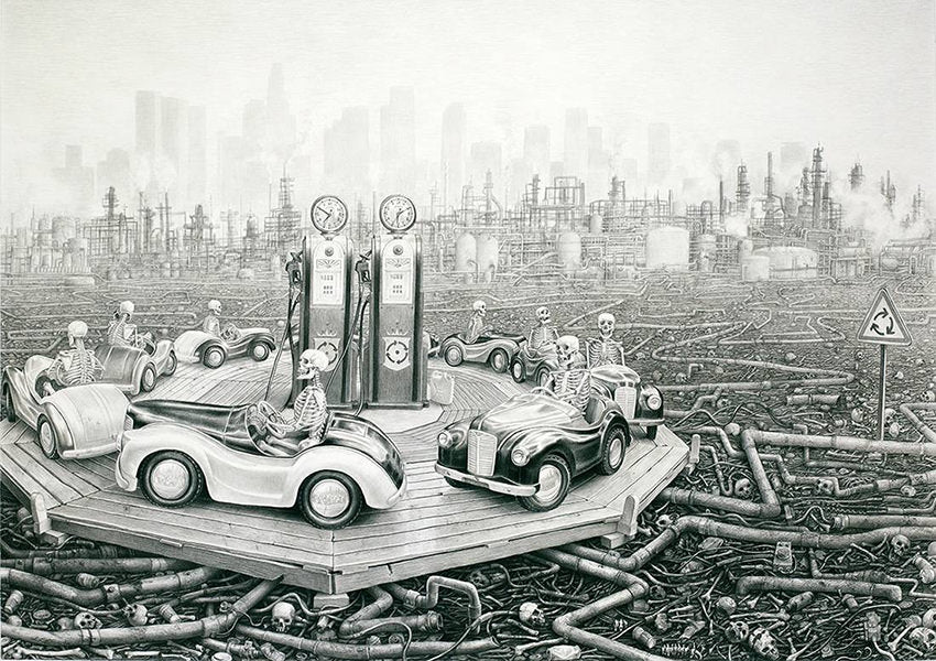 Laurie Lipton drawings
