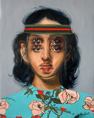 "Alex Garant - ""In Between""- oil on canvas - 40.6 x 50.8cm (16""x20"")"