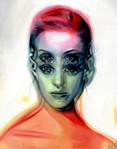"Alex Garant - ""Into The Light"" - oil on canvas - 27.9 x 36.6 cm (11""x14"")"