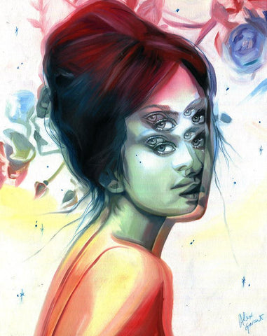 "Alex Garant - ""Mist & Dust"" - oil on canvas - 40.6 x 50.8 cm (16""x20"")"