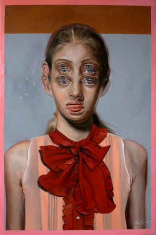 "Alex Garant - ""The Witness""- oil on canvas - 70 x 91cm (24""x36"")"