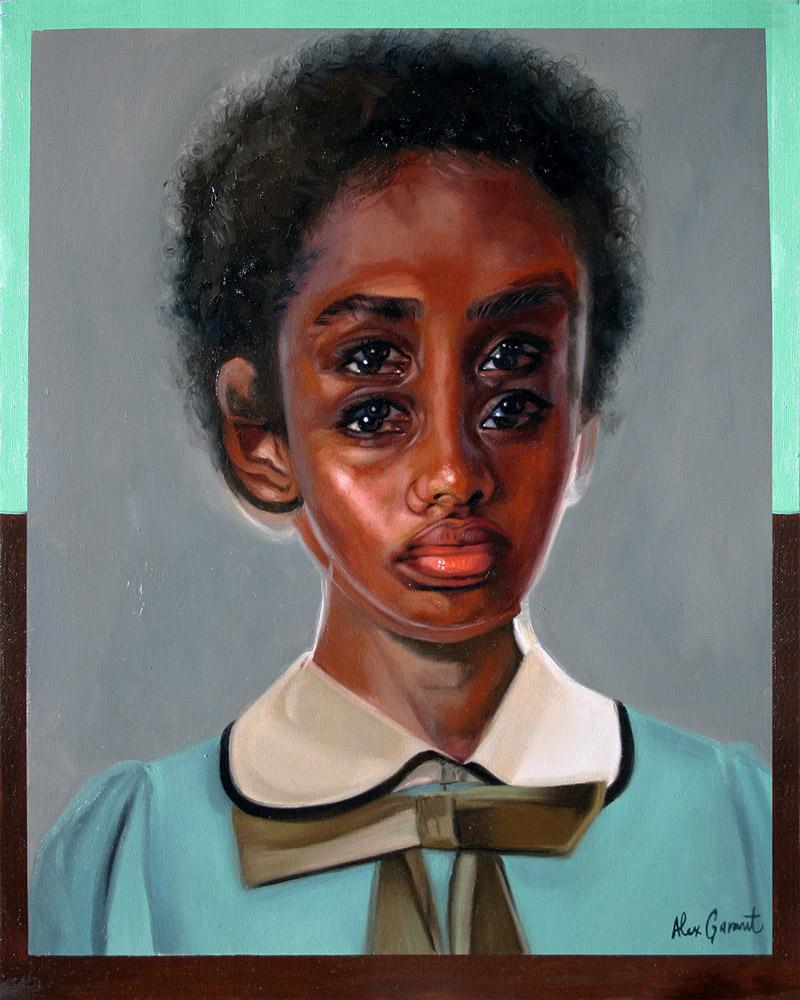 "Alex Garant - ""The Perfect One""- oil on canvas - 40.6 x 50.8cm (16""x20"")"
