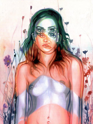 "Alex Garant - ""Always Searching"" - oil on canvas - 45.7 x 61 cm (18""x24"")"