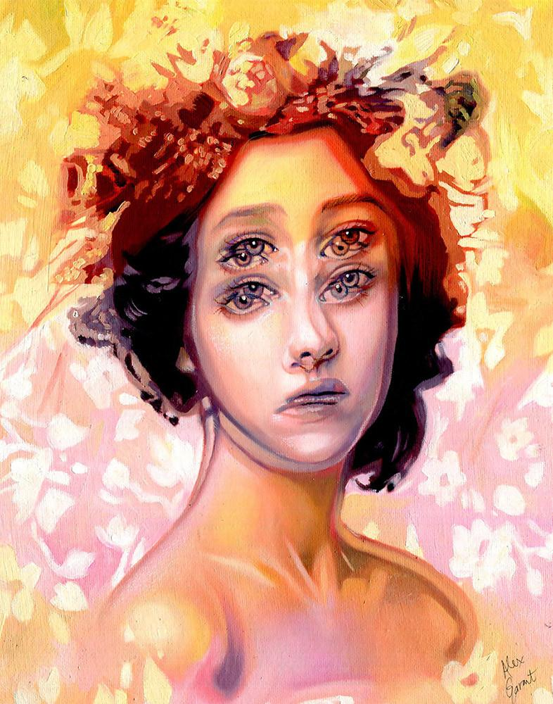 "Alex Garant - ""Resurgence"" - oil on canvas - 27.9 x 36.6 cm (11""x14"")"