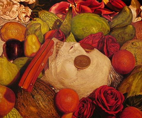 "Beau White - ""Vanitas No.1"" - oil on board - 60 x 50cm (23.6""x19.7"")"