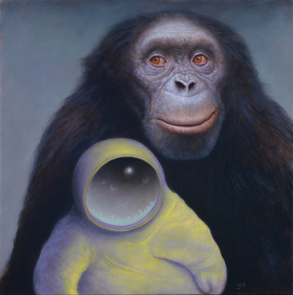 Chris Leib - 'Origin' - oil on panel