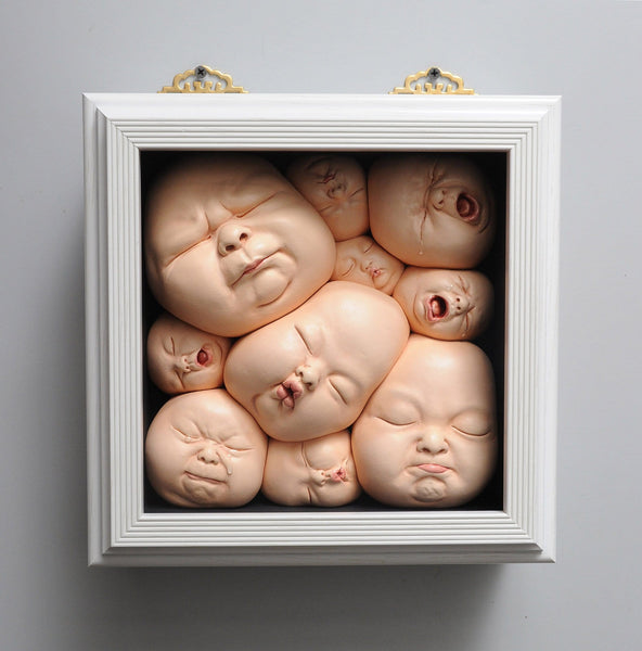 Johnson Tsang baby sculpture