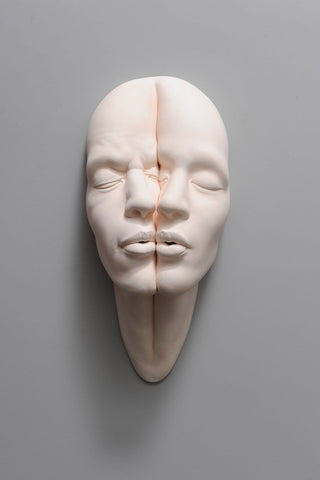 "Johnson Tsang - ""Lucid Dream - Two in One"" - porcelain - 36 x 16 x 11cm (14""x6.5""x4.3"")"