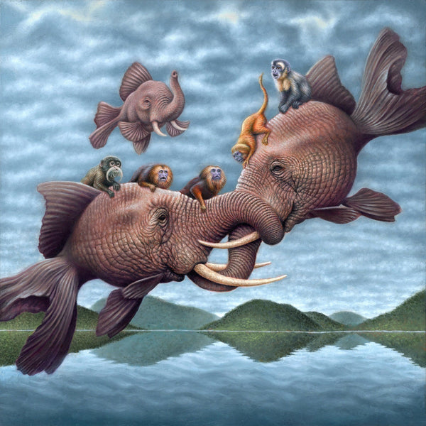 Jon Beinart oil painting
