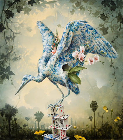 "Kevin Sloan - ""Memorial Garden"" - limited edition print of 75 - 61x50.8cm (24""x20"")"
