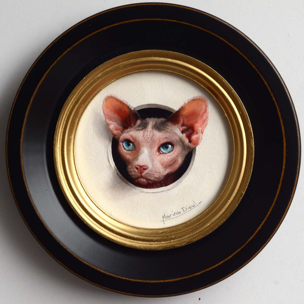 Marina Dieul - cat painting