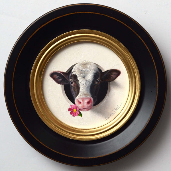 Marina Dieul cow painting