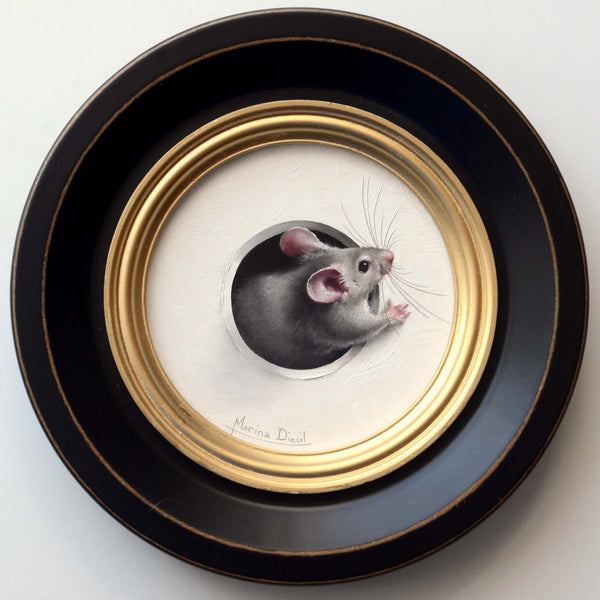 Marina Dieul mouse painting