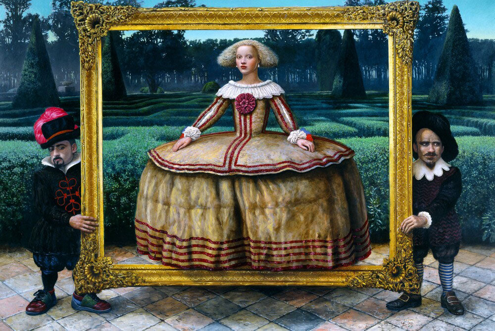 "Mike Worrall - ""The Portrait"" - limited edition print - limited edition print of 300 - 51 x 34cm (20.1""x13.4"")"