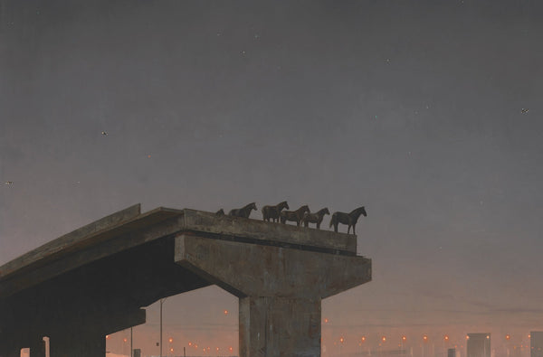 Shaun Tan print - Tales from the Inner City