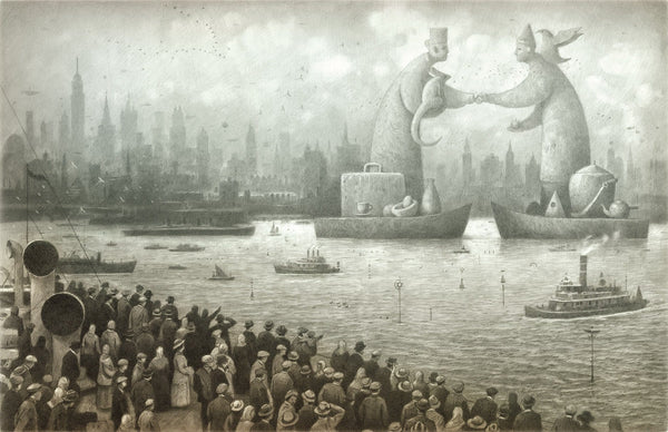 Shaun Tan print - The Arrival