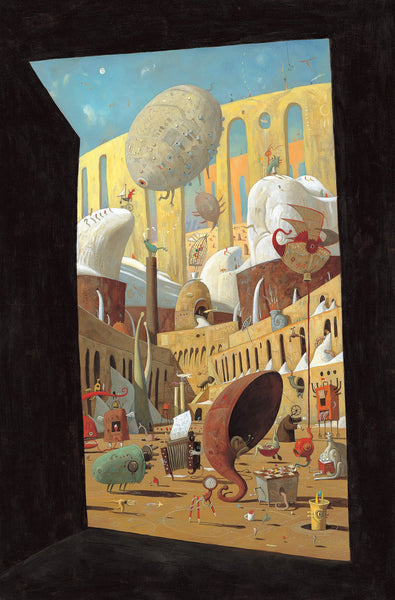 Shaun Tan print - The Lost Thing