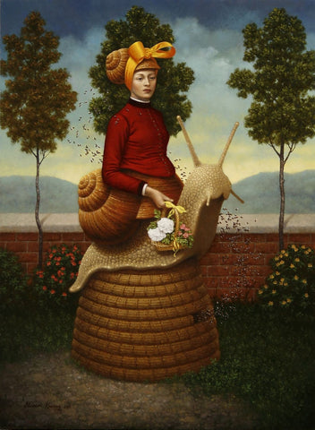 "Steven Kenny - ""The Beekeeper's Wife"" - limited edition print *free shipping"