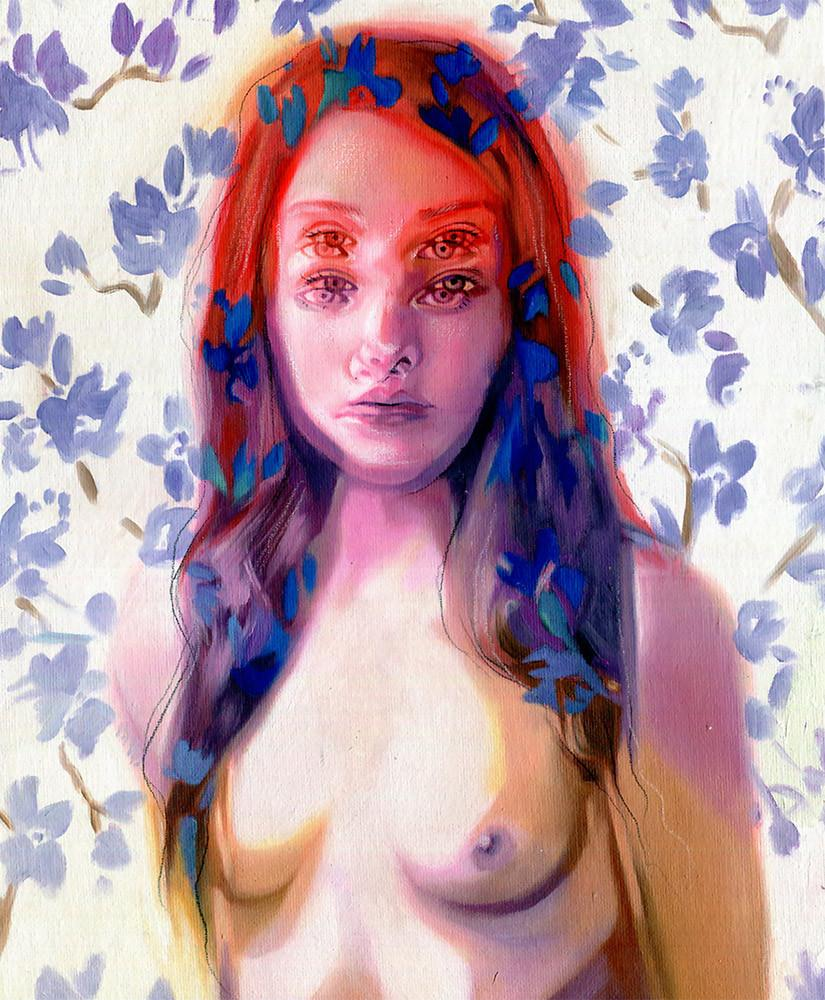 "Alex Garant - ""Early Morning"" - oil on canvas - 27.9 x 35.6 cm (11""x14"")"