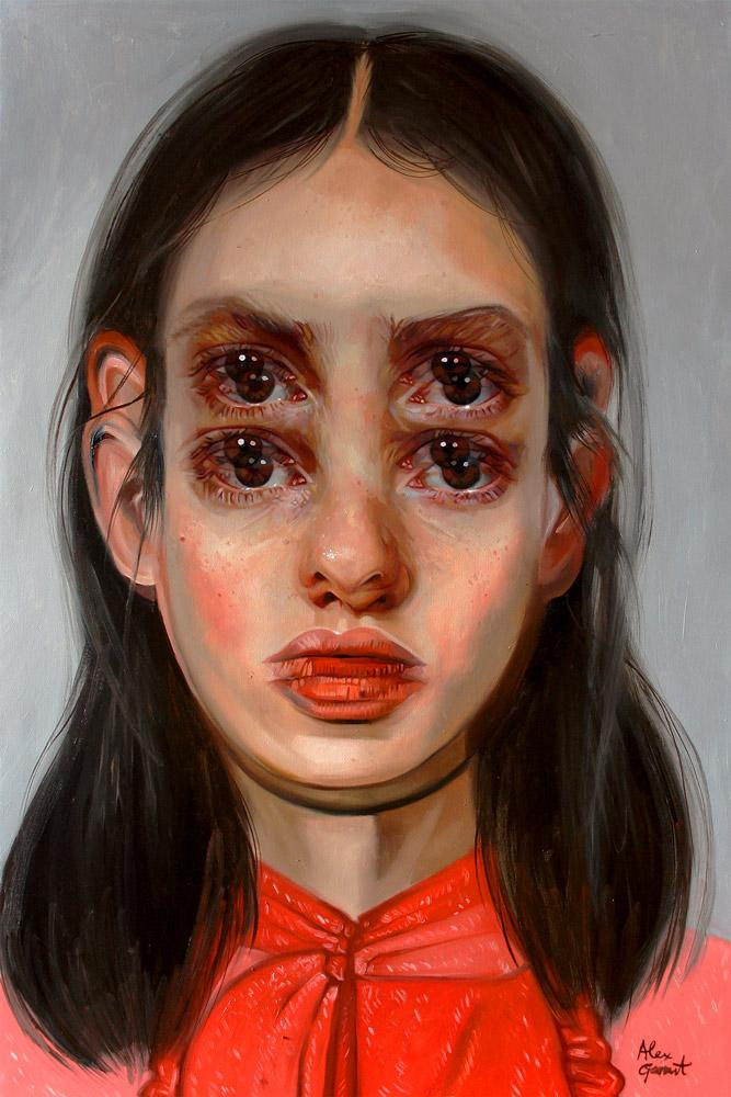 "Alex Garant - ""The Keys""- oil on canvas - 70 x 91cm (24""x36"")"