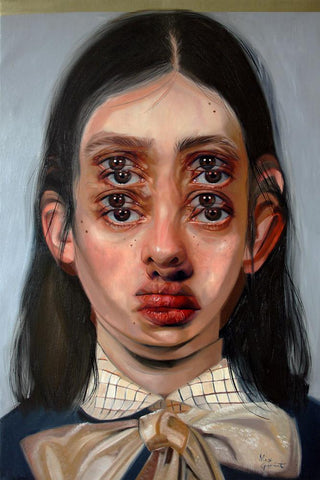 "Alex Garant - ""The Tales We Forget""- oil on canvas - 70 x 91cm (24""x36"")"