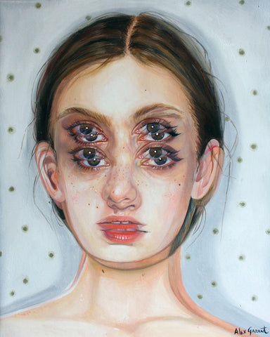 "Alex Garant - 'Pollination' - oil on canvas - 40.6 x 50.8 cm (16""x20"")"