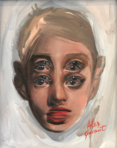 "Alex Garant - ""Study 4""- oil on canvas - 20.3 x 25.4cm (8""x10"")"