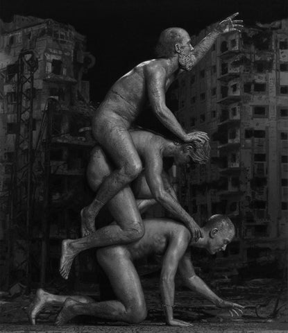 "Ben Howe - ""Monument"" - oil on board, 79 x 92cm (31.1""x36.2"")"