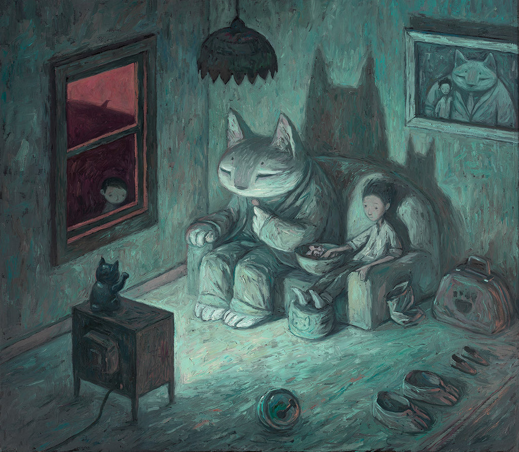 "Shaun Tan - ""Never Give Your Keys To A Stranger"" - limited edition print *free shipping"