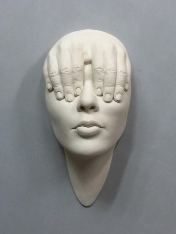 "Johnson Tsang - ""Lucid Dream - Windows"" - porcelain - 32 x 16 x 11cm (12.6""x6.3""x4.3"")"