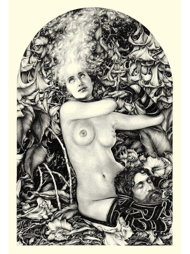 "Lucy Hardie - ""Salomé"" - limited edition print of 50 - 30x45.5cm (11.8""x17.9"")"