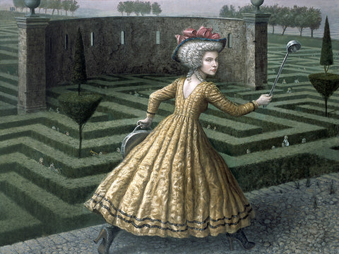 "Mike Worrall - ""Miss Pandamonium"" - limited edition print"