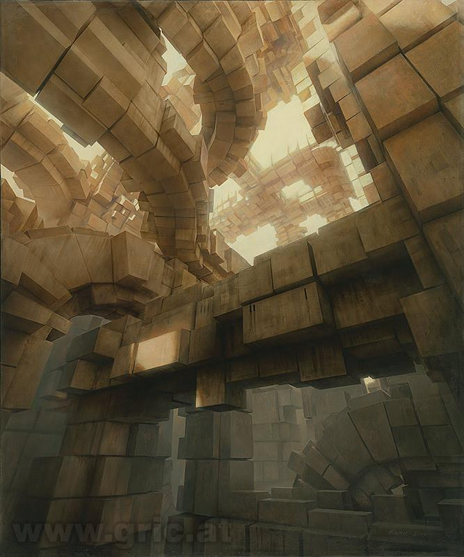 "Peter Gric - ""Metropolis"" - limited edition print"