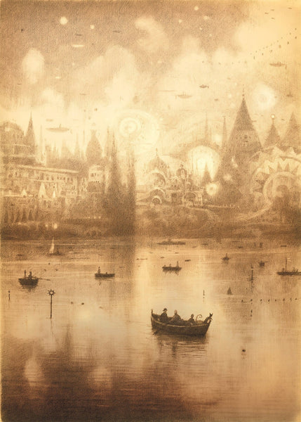 Shaun Tan - The Arrival Lake